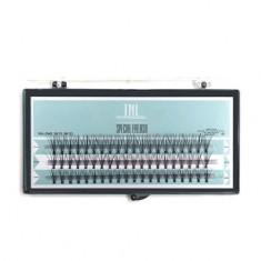 TNL, Ресницы на ленте, безузелковые, 10 шт. в пучке TNL Professional