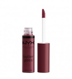 NYX PROFESSIONAL MAKEUP Блеск для губ, тающий на губах Butter Lip Gloss - Devil's Food Cake 22