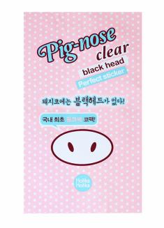 HOLIKA HOLIKA Полоска очищающая для носа Пиг-ноуз / Pig-nose Clear Back Head Perfect Sticker 1 шт