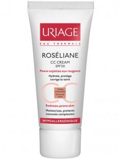 Uriage (Урьяж) Розельян SPF30 СС Корректирующий крем от покраснений 40 мл