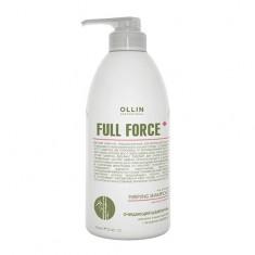 Ollin Professional FULL FORCE Очищающий шампунь для волос и кожи головы с экстрактом бамбука 750мл
