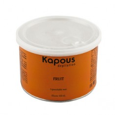 Жирорастворимый воск с ароматом банана в банке, 400 мл (Kapous Professional)