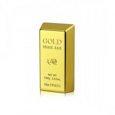 мыло для умывания с экстрактом золота the saem gold snail bar
