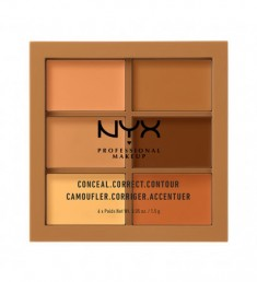 NYX PROFESSIONAL MAKEUP Палетка для коррекции Conceal, Correct, Contour Palette - Deep 303