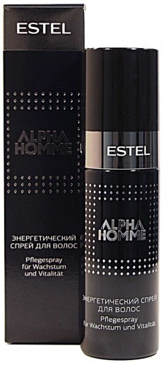 ESTEL PROFESSIONAL Спрей энергетический для волос, для мужчин / ALPHA HOMME 100 мл