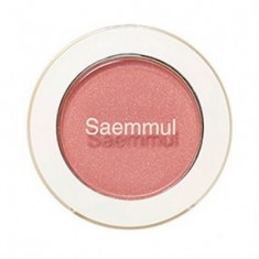 Тени для век мерцающие THE SAEM Saemmul Single Shadow Shimmer CR04 Splash Coral 2гр