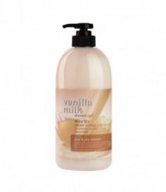 Гель для душа Welcos Body Phren Shower Gel Vanilla Milk 730мл