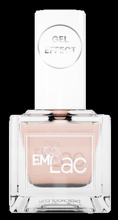 E.MI 002 лак ультрастойкий для ногтей, Розовая дымка / E.MiLac Gel Effect 9 мл