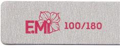 E.MI Пилка для ногтей 100/180 / Zebra Maxi