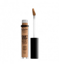 NYX PROFESSIONAL MAKEUP Стойкий жидкий консилер для лица Can't Stop Won't Stop Contour Concealer Neutral Buff