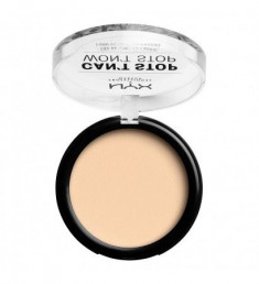 NYX PROFESSIONAL MAKEUP Тональная основа-пудра Can't Stop Won't Stop Powder Foundation - Pale 01
