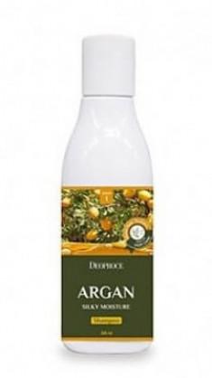 Шампунь с маслом арганы DEOPROCE Shampoo argan silky moisture 200мл