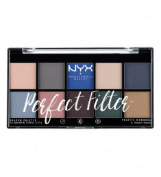 NYX PROFESSIONAL MAKEUP Палетка теней Perfect Filter Shadow Palette - Marine Layer 05