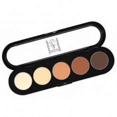 Палитра теней, 5 цветов Make-up Atelier Paris T05 рыже-коричневые тона