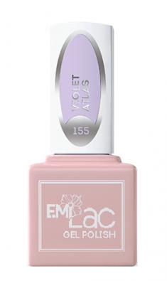E.MI 155 WEC гель-лак для ногтей, Лиловый атлас / E.MiLac 6 мл