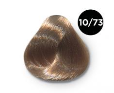 OLLIN PROFESSIONAL 10/73 краска для волос, светлый блондин коричнево-золотистый / OLLIN COLOR 100 мл