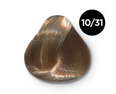 OLLIN PROFESSIONAL 10/31 краска для волос, светлый блондин золотисто-пепельный / OLLIN COLOR 100 мл
