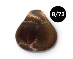 OLLIN PROFESSIONAL 8/73 краска для волос, светло-русый коричнево-золотистый / OLLIN COLOR 100 мл