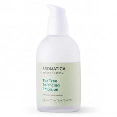 балансирующая эмульсия с экстрактом чайного дерева aromatica tea tree balancing emulsion