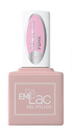 E.MI 097 CW гель-лак для ногтей, Романтический розовый / E.MiLac 6 мл