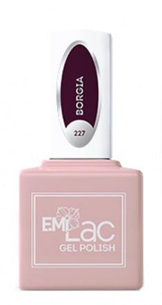 E.MI 227 RM гель-лак для ногтей, Борджия / E.MiLac 6 мл