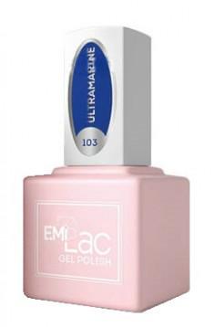 E.MI 103 SCO гель-лак для ногтей, Ультрамарин / E.MiLac 6 мл