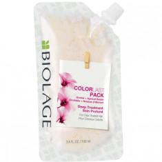 Matrix Биолаж Colorlast Deep Treatment Pack Маска-концентрат для глубокого восстановления окрашенных волос 100мл
