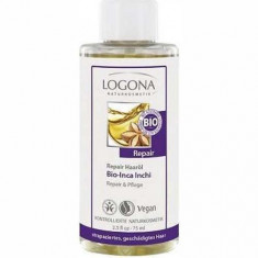 LOGONA Восстанавливающее масло для волос 75 мл