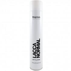 Kapuos Лак аэрозольный для волос нормальной фиксации 750мл Kapous
