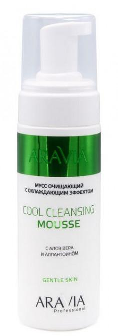 ARAVIA Мусс очищающий с охлаждающим эффектом, с алоэ вера и аллантоином / Professional Cool Cleansing Mousse 160 мл