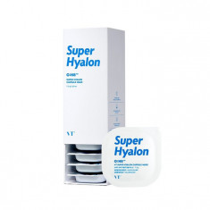 капсульная глиняная маска с 8 видами гиалуроновой кислоты vt cosmetics super hyalon capsule mask
