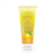 Скраб для тела с экстрактом цитрона WELCOS AROUND ME Natural Perfume Vita Body Scrub Yuja 200мл