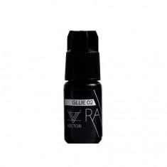 ONIQ, Клей для наращивания ресниц Vector Ray №02, черный, 5 мл